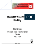 Introduction to Engineering Reliability engineering Reliability Concepts