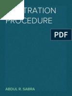 Arbitration Procedure