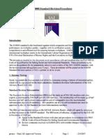 Standard Revision Procedures Color