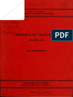 Minerals of California 1952