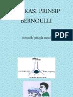 Aplikasi Prinsip Bernoulli
