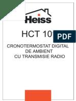 Cronotermostat HEISS - Instructiuni de Instalare Si Utilizare