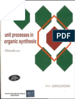 Cover Unit Processes In Organic Synthesis, Fifth Edition