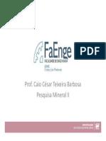Apostila - Pesquisa Mineral II