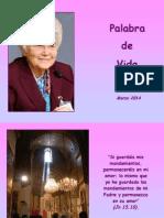 Palabra de Vida - Marzo 2014