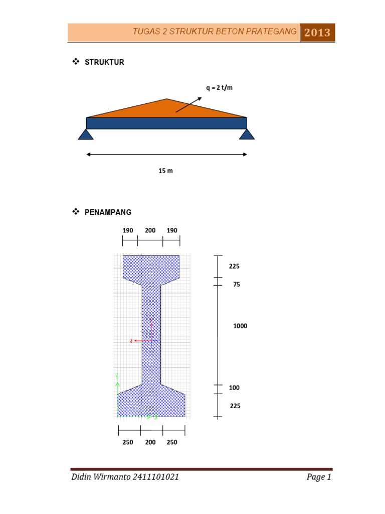 Struktur Beton Prategang