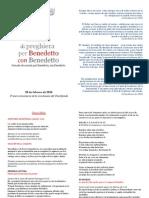 28 Febbraio 2014 Libretto Preghiera Spagnolo