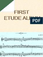 First Etude Album PP