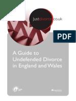 Online Divorce Guide from Just Divorce
