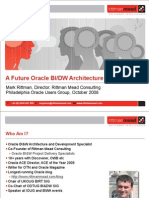 A Future Oracle BIDW Architecture