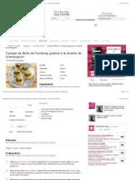 Canapé de Belle de Fontenay gratiné à la duxelle de champignon.pdf