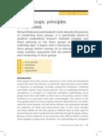 FG-Principles and Process