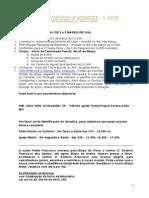 INFORMAÇÃO PAROQUIAL DE 2 a 9 MARÇO DE 2014
