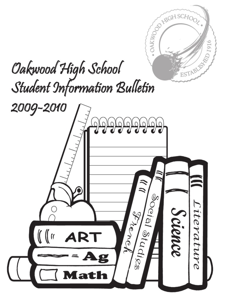 stu info bulletin 0910 act test university and college admission Paralegal Resume Objective