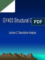 analisis geologi