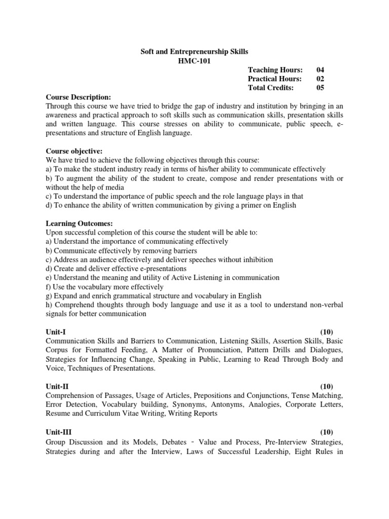 Magnificent Curriculum Vitae Soft Skills Gallery - Entry Level ...