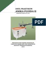 Modul Praktikum Mekanika Fluida II - 2013-2014