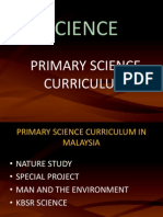 Primary Science Curriculum