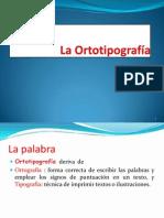La Ortotipografia
