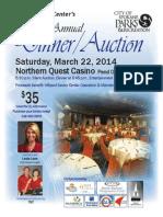 Auction Flyer 2014