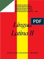 Fasciculo-lingua Latina II