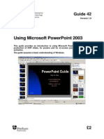 111 Powerpoint 2003 Using