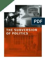 Katsiaficas] the Subversion of Politics  study group