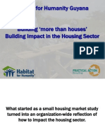 Habitat For Humanity – Housing Project