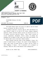 NCPD Release-Arrest [3-1-14]
