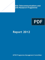 MTHR Report 2012