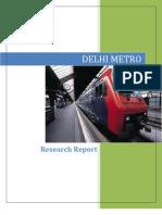 Delhi Metro_Research Report