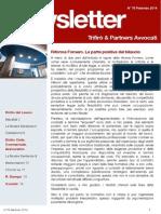 Newsletter T&P N°76