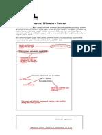 PREGLED LITERATURE - Primjer eseja istraživanja iz psihologije