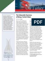 Unbearable Heaviness Being a Turkish Citizen - Emre Erdoğan