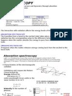 Spectroscopy UV VIS