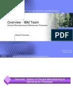 PM Overview IBM Proj Team