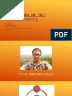the pandora internet radio experience