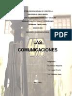 Trabajo de Comunicaciones