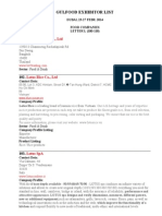 Gulfood Exhibitor List-  3