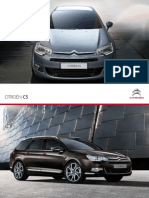 Citroen C5 Brochure