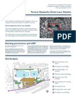 Green Lane, Rawdon, Consultation Boards