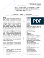 1996 Three Dimensional Modeling of Woven