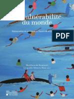 La vulnérabilité du monde Libro