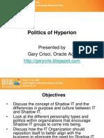 Politics of Hyperion (ODTUG)