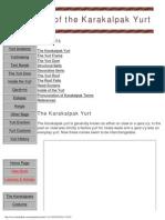 Yurt Anatomy