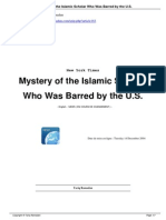 Mystery of the Islamic Scholar Who Was Barred by the US