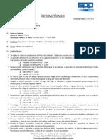 Informe Técnico - Proyecto Sodimac - Sullana