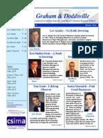 Graham & Doddsville - Issue 20 - Winter 2014