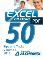 Excel on Steroids Tips and Tricks Vol 5