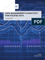 DATA MANAGEMENT & ANALYTICS FOR UTILITIES 2014